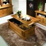 Bois massif, rangements pratiques et élégance des meubles de salon Maison d'un Rêve…