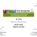 Auto Choc, la casse primée « environnement » des Alpes Maritimes